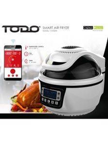 TODO Smart Air Fryer 10L Electric Convection Oven Wireless Android Iphone App