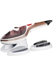 TODO Steam Brush Iron Travel Handheld Portable Clothes Steamer Garment Brush - Black