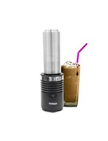 TODO 300W Smoothie Maker Drink Blender 600ML Double Wall Stainless Steel Jar - Black