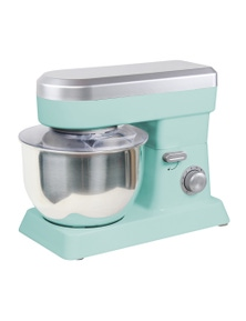 TODO 1200W Electric Stand Mixer 6.2L Stainless Steel Bowl 10 Speed - Blue