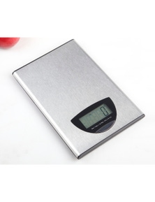 5Kg Stainless Steel Kitchen Scale Lcd Display 1G Graduation