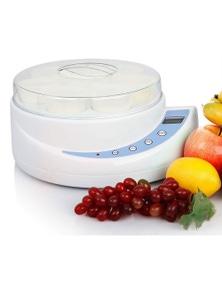Eware Electric Yoghurt Maker 8 Cup Digital Lcd Temp Timer 150Ml Cup X8
