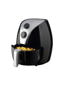TODO 2.5L 1500W Air Fryer Convection Oven Fan Forced Multi Function Cooker Analog - Black