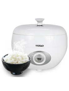 TODO 1.2L Rice Cooker 6 Cup Capacity 500W Steam Tray