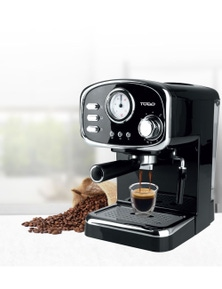 TODO Espresso Coffee Machine Maker Automatic 15 Bar Italian Ode Pump 1.25L