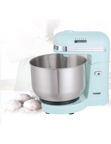 TODO 350W 5 Speed Electric Stand Mixer With 3.5L Stainless Steel Bowl Retro - Blue