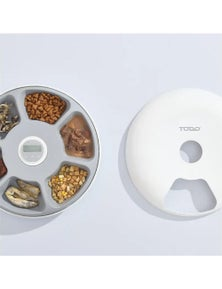 TODO Automatic Pet Feeder 180ml x 6 Meals