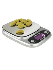 10Kg Stainless Steel Kitchen Scale Backlit Lcd Display 1G Graduation Jewelry Platform