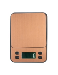3Kg Stainless Steel Kitchen Scale Lcd Display 0.1G Graduation Coffee Scale Usb Powered