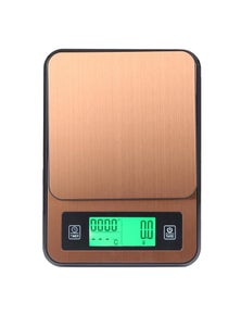 3Kg Stainless Steel Kitchen Scale With Temperature Detector Probe 0.1G Graduation Lcd Alarm
