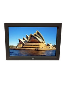 12 Inch Digital Photo Frame, Multimedia Player and Usb Card Reader