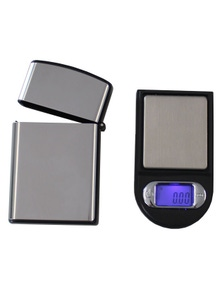 2X Mini Digital Electronic Pocket Scale 100G - 0.01G Tare Backlit Lcd With Steel Case
