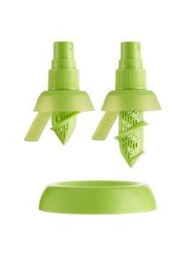 2X Stem Spray Mist Juicer Bpa Free Silicon Fruit Citrus Lemon Lime Kitchen Tool