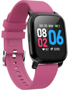 Bluetooth V5.0 Smart Watch GPS Track Heart Rate Blood Pressure 1.3""