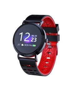 "Bluetooth V5.0 Smart Watch Heart Rate Blood Oxygen 1"" TN OLED IP67"