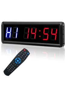 Digital Countdown Timer Clock for Training and Fitness - 1.5""