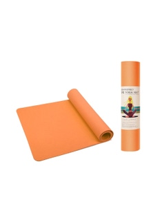 Yoga Mat with a Non Slip TPE Textured Surface - 6mm