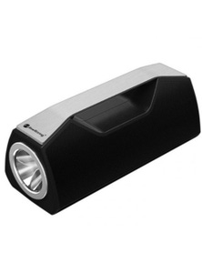 Bluetooth V5.0 Portable Speaker LED Flash Light Torch USB AUX