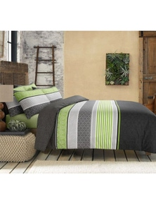 Amsons Topaz Quilt Cover Set with 2 Pillowcases