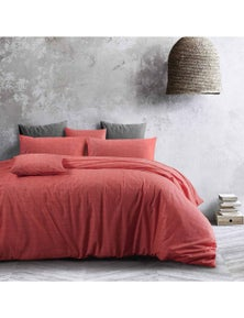 Amsons Living Coral Quilt Cover With 1 Pillowcase