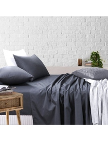 Amsons Sheet Set-Fitted & Flat Sheet With Pillowcases