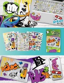 SUDA By Design Tech Toppers - Graffiti
