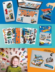 SUDA By Design Tech Toppers - Hot Wheels