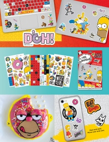 SUDA By Design Tech Toppers - Simpsons