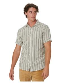 Stay Men's Zypher Mens Short Sleeve Woven Shirt Short Sleeve Cotton