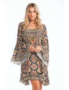 Czarina Wild Desert Frill Dress