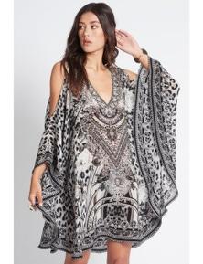 Czarina Wild At Heart Kaftan Dress