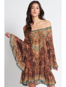 Czarina Gaia Frill Dress