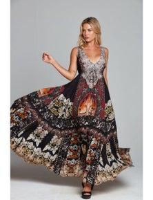Czarina Enchanted Maxi Dress