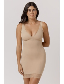 Bella Bodies Australia Curve Control Runway Slip With Lace