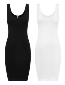 Bella Bodies Australia Modal Pure Comfort Slip 2 Pack