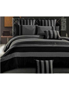 Luxton Berto Striped Quilt Cover Set
