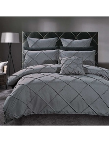 Luxton Abel Pintuck Quilt Cover Set