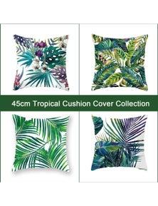 Luxton Decorative Tropical Style Cushion Covers 4pcs