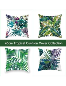 Luxton Decorative Tropical Style Cushion Covers 4pcs
