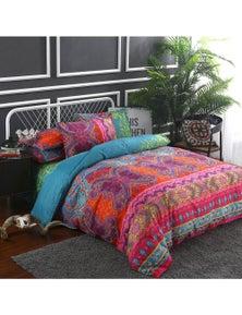 Luxton Cassia Boho Mandala Quilt Cover Set