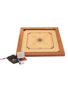 Jenjo Games Championship Carrom Board Plywood 87x87cm