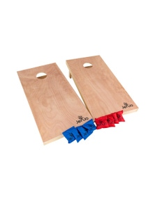 Jenjo Games Comp Cornhole Boards & Bean Bag Toss Game