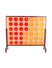 Jenjo Games Giant4 Connect Four In A Row Outdoor Game
