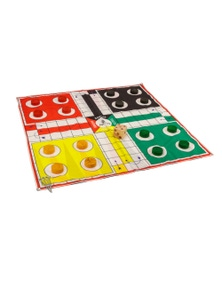 Jenjo Games 2 in 1 Giant Game Ludo & Backgammon
