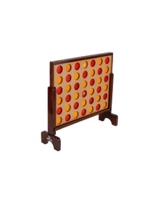 Jenjo Games Mega4 Connect Four In A Row Game Set
