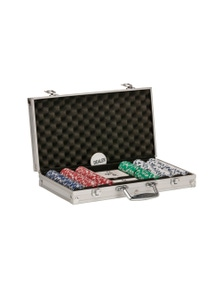Jenjo Games Poker Set With Aluminium Case