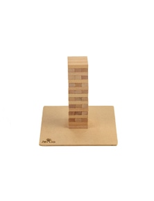 Jenjo Games Mini Jenjo Outdoor Wooden Block Game 54 Pc