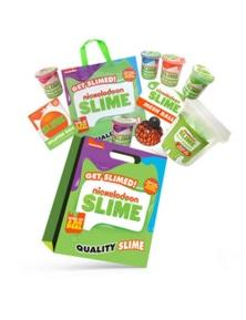 Nickelodeon Slime Kids Showbag w/Glow Slime/Neon Slime/Mesh Ball/DIY Slime/Bag