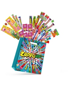 ZAPPO 35pc Jumbo Kids Showbag Candy Confectionery Show Bag Official Licensed