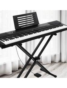 Alpha Digital Piano Keyboard Electronic Keyboard Electric Keyboard 88 Key Black
